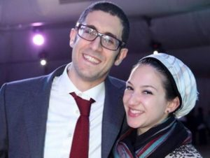 Rabbi Joe Wolfson and Corinne Shmuel, OU-JLIC at NYU educators
